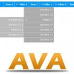 AVA menu
